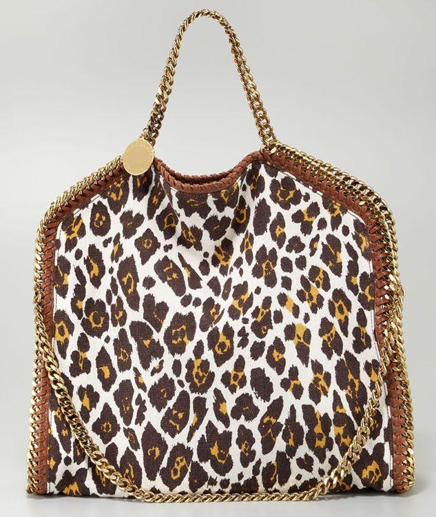 f69205caced2 Stella McCartney Falabella Leopard Print Bag