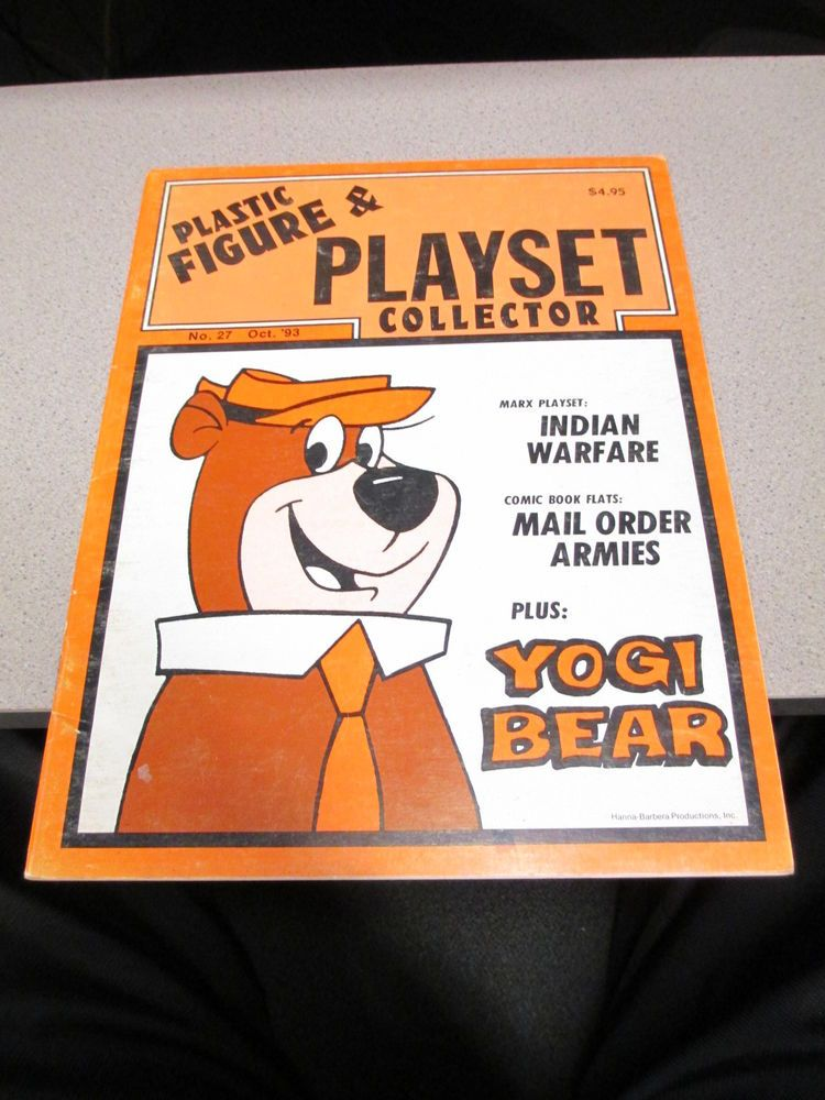 PFPC Marx Magazine Plastic Figure Playset Collector 27 1993 Yogi Bear | eBay