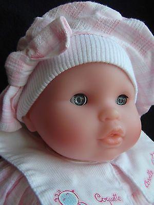 poupée-poupon corolle nouveau né rose de 1998 comme neuf