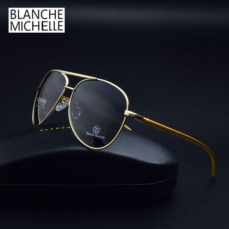 Aluminum Magnesium Polaroid Polarized Sunglasses Men Driving Pilot Sun glasses Brand Designer Fashion Oculos De Sol Masculino