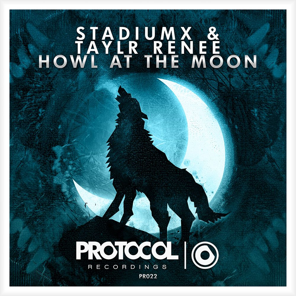 Stadiumx, Taylr Renee – Howl at the Moon (single cover art)