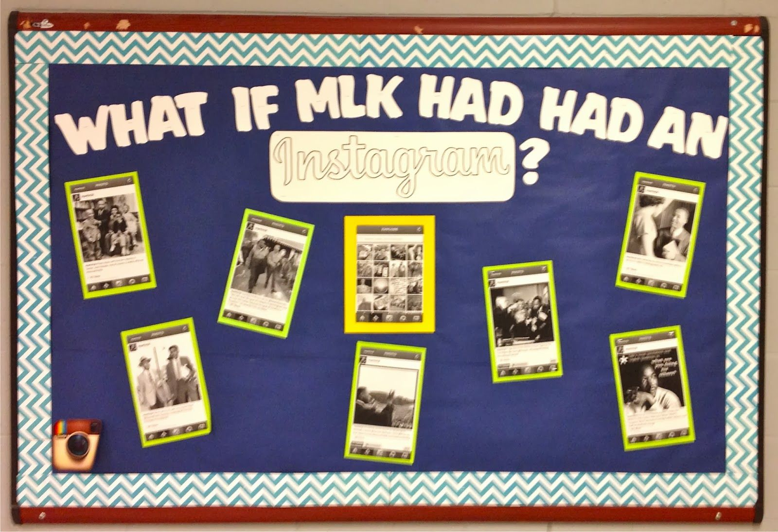 Black history month on pinterest martin luther king for Black bulletin board ideas