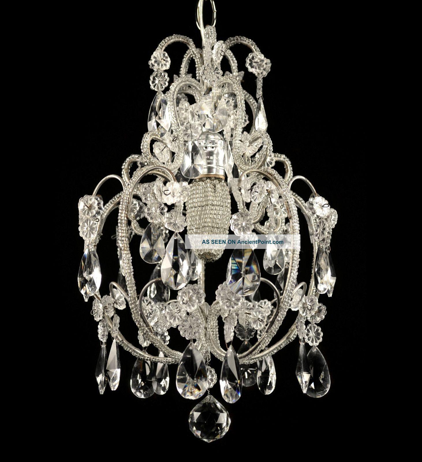 Antique chandeliers antique crystal chandelier vintage glass light antique chandeliers antique crystal chandelier vintage glass light pendant french italian arubaitofo Choice Image