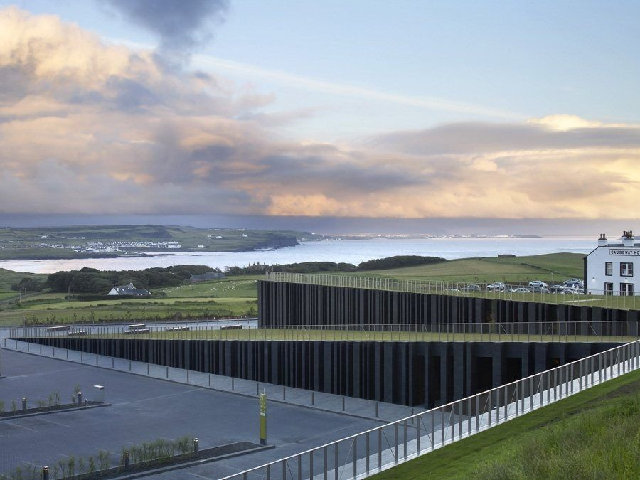 Giants Causeway Visitors Centre by Heneghan Peng Architects - News - Frameweb