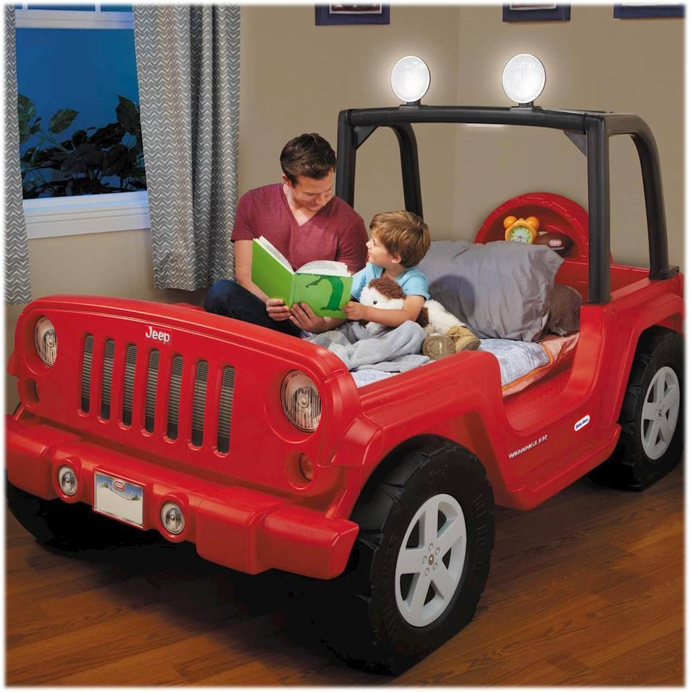 "Little Tikes Jeep® Wrangler 53"" Toddler/Twin Bed Red"