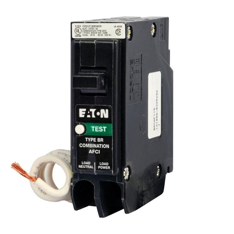 Eaton Brcaf120cs Afci Arc Fault Breaker 20 Amps Breakers Eaton Amp