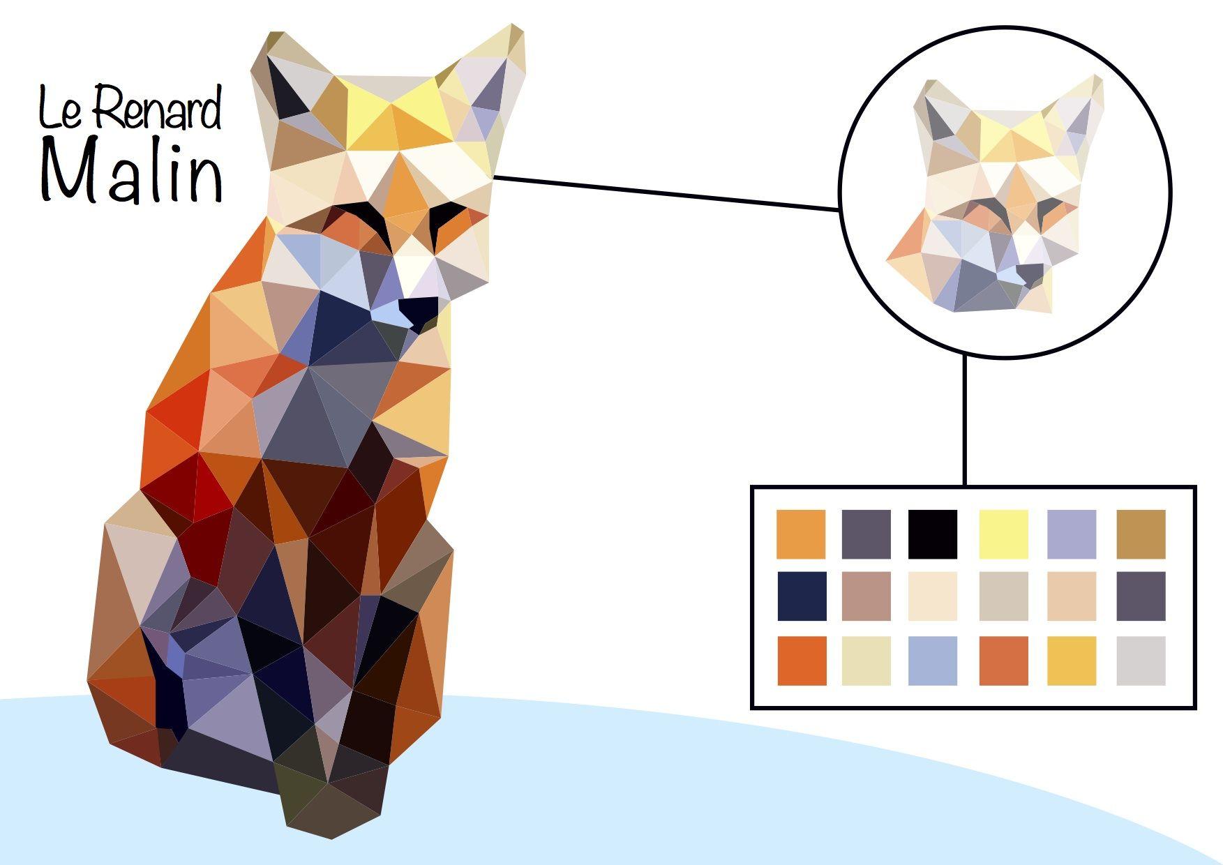 Le renard malin ai made by vianney dehainault le renard malin cr ation pinterest - Vianney prenom ...