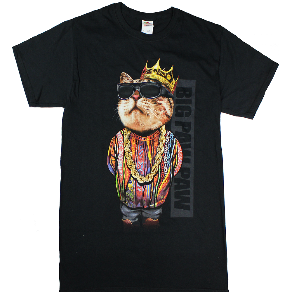 d97cac836 Men's big paw paw notorious b.i.g. cat tee | Products | Men, Tees ...