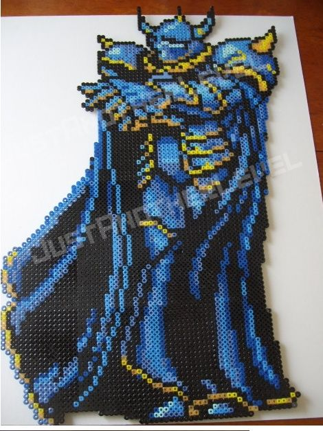 Golbez - Final Fantasy IV perler beads by DevilEyeArtwork on deviantart