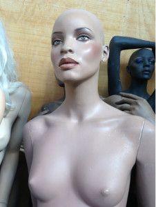 Stunning African American Rootstein Mannequins