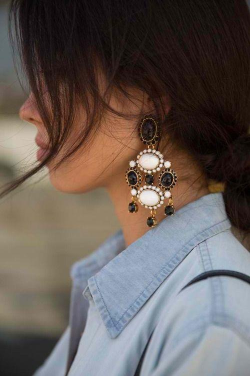 Oscar de la Renta Cabachon earrings...I love mine.....:)