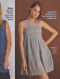 CROCHE DA ANJINHA: Vestidos