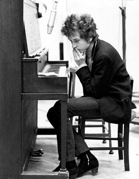 Musico+instrumento Bob Dylan