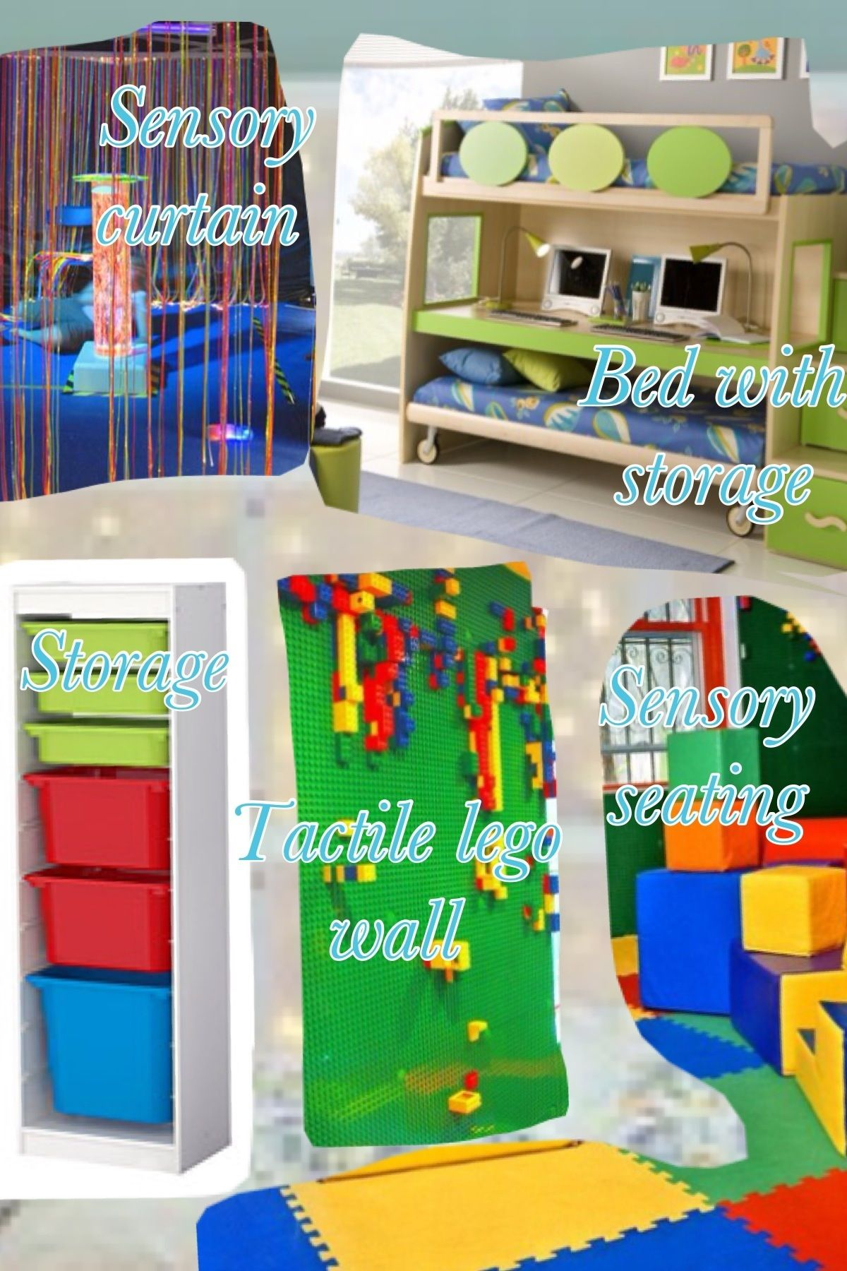 sensory room ideas - Google Search | Therapies for Isaiah