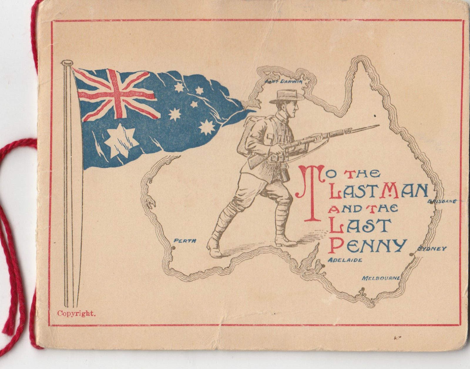 Ww1 anzac australian christmas greeting card charlie from nelsons ww1 anzac australian christmas greeting card charlie from nelsons family scarce kristyandbryce Gallery