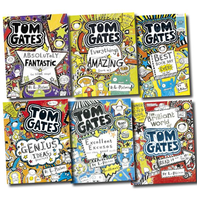 The Brilliant World Of Tom Gates By Liz Pichon Hilarious