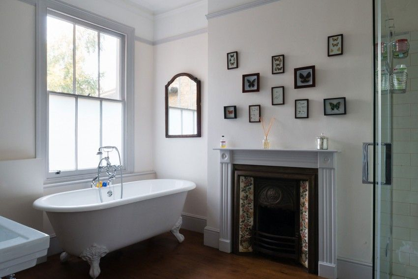 Kleine und moderne Badezimmer mit Badewanne Pinterest Lofts