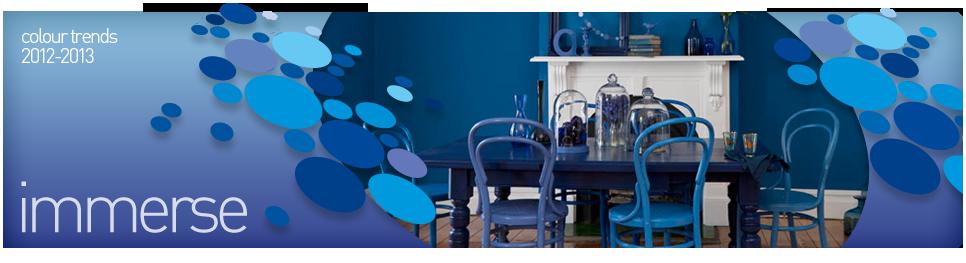 Dulux Colour Forecast 2012 - 2013 – Immerse