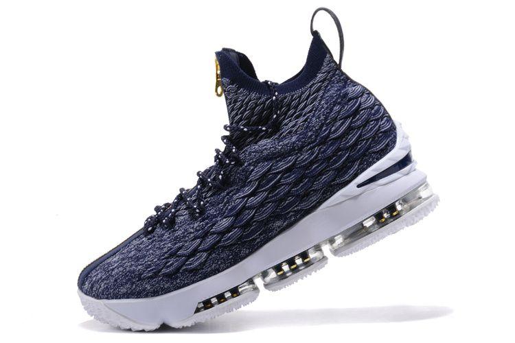 Newest 2018 Nike LeBron 15 XV EP Navy