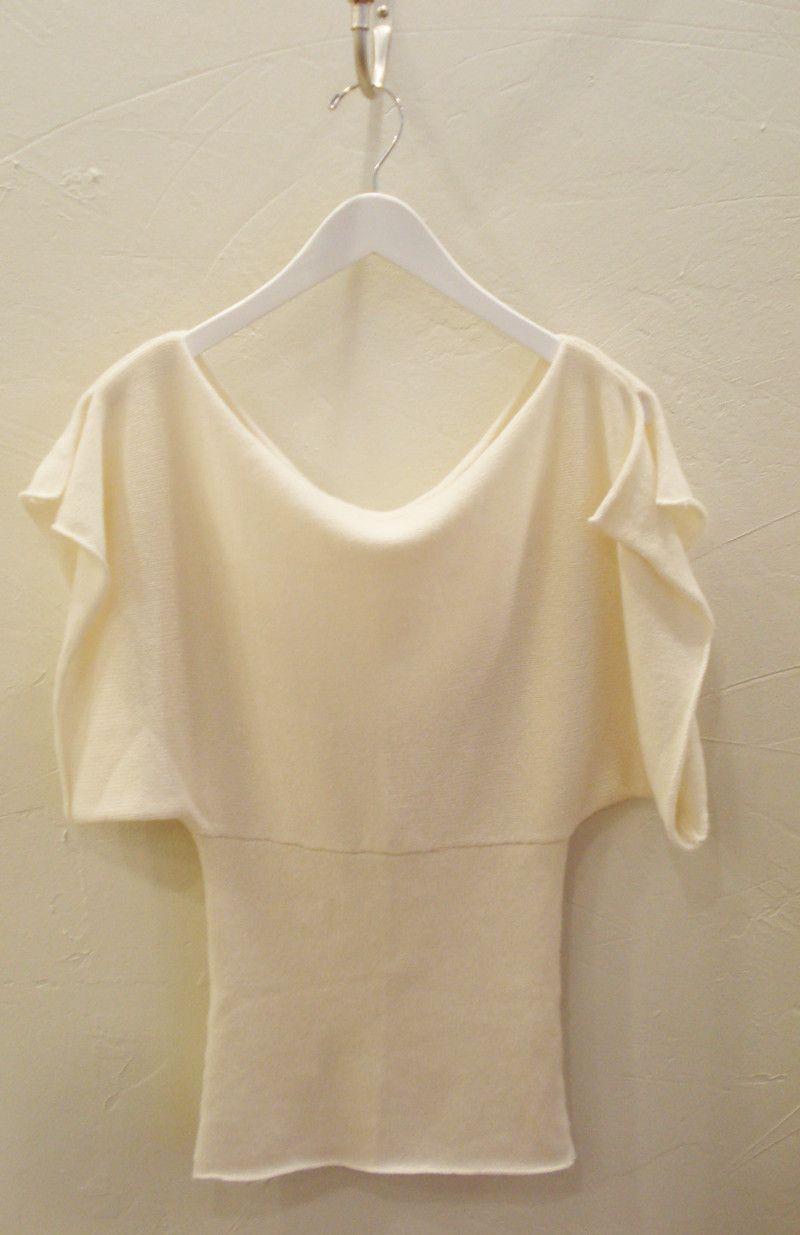 souchi batwing hand loomed cashmere sweater