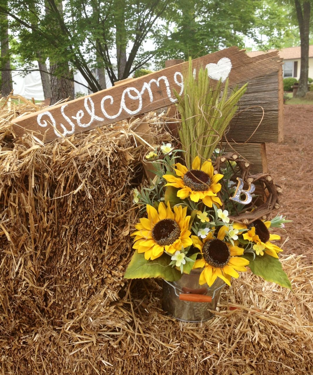 Sunflower Wedding Decorations