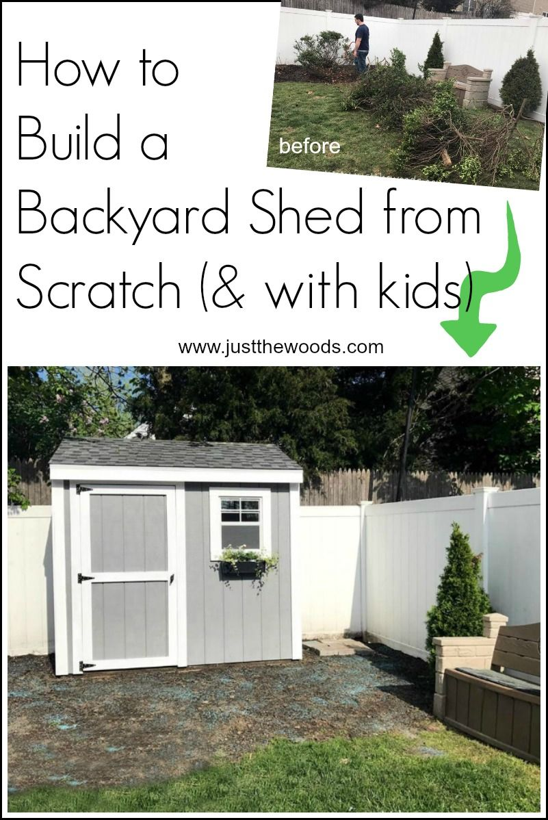 how to build a shed from scratch woods gardens and diy craft