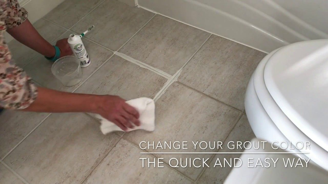 Change grout color the easy way grout renew grout