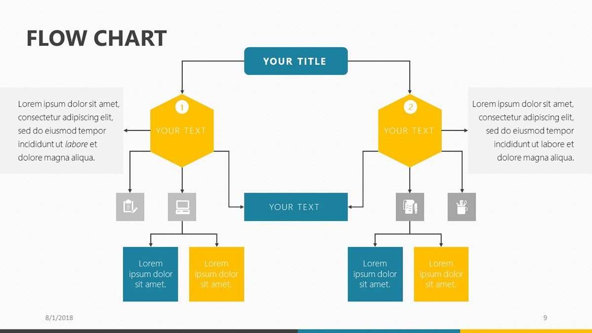 Flow Chart Powerpoint Template Flow Chart Template Process Flow Chart Template Process Flow Chart