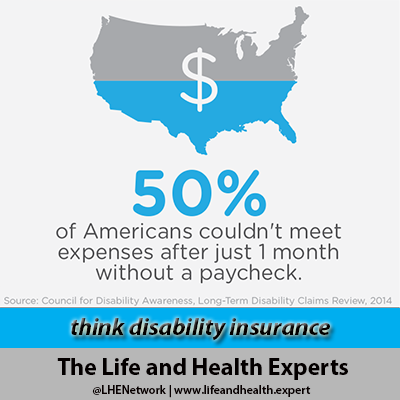 Think Disability Insurance Educate And Protect Your Paycheck