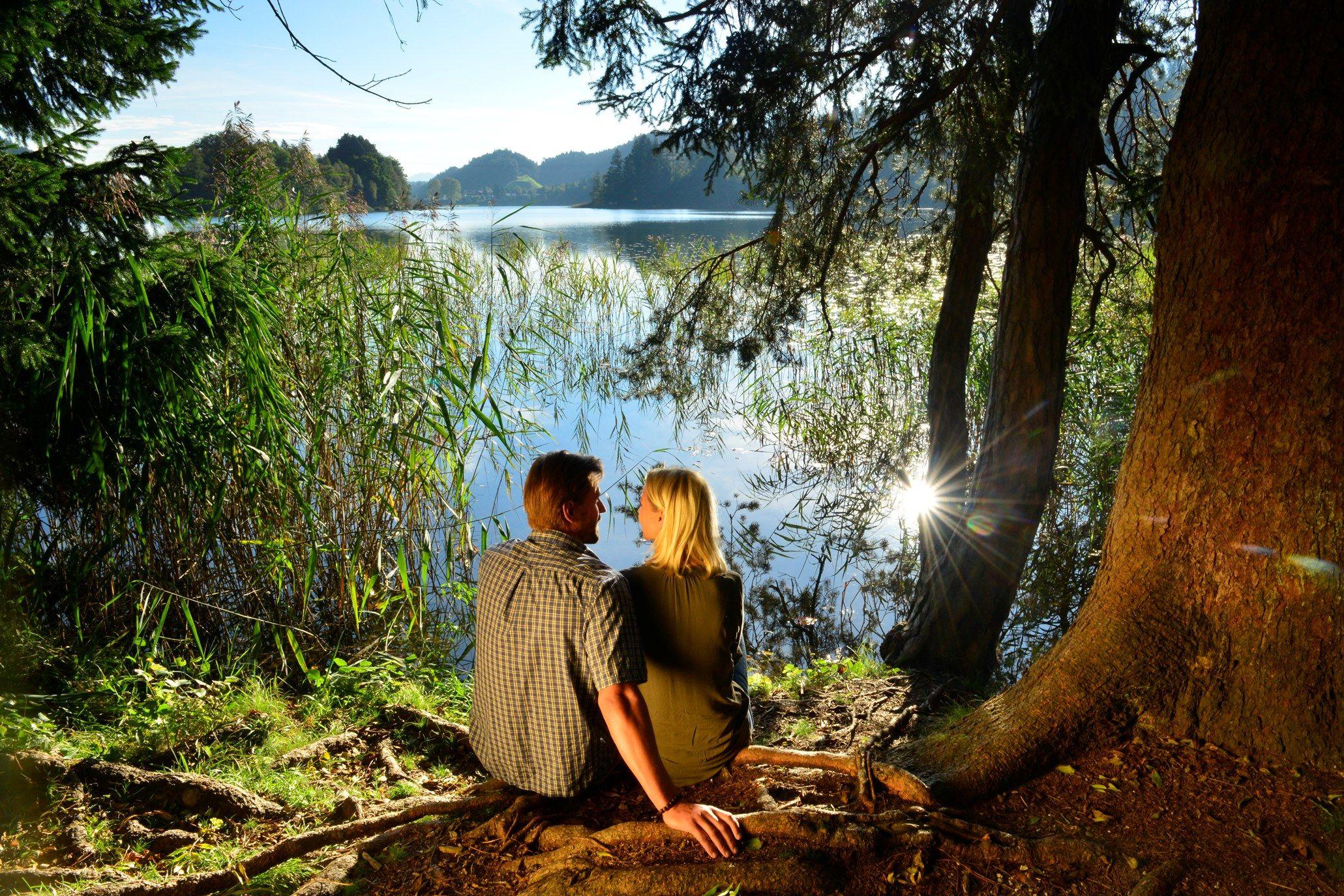 Le lac Reintalersee dans la région Alpbachtal Seenland © Alpbachtal Seenland Tourismus