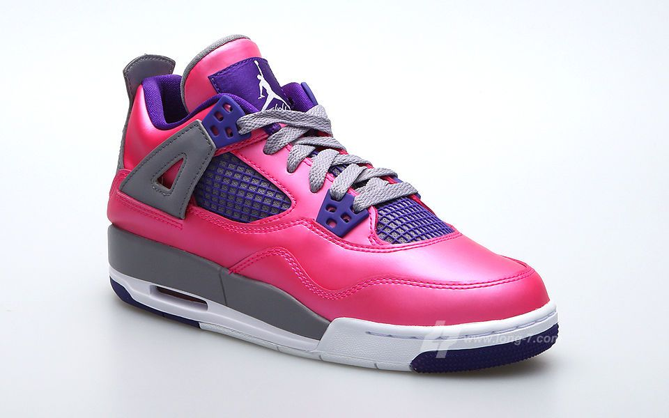 Air Jordan V Gs Blue Pink Purple