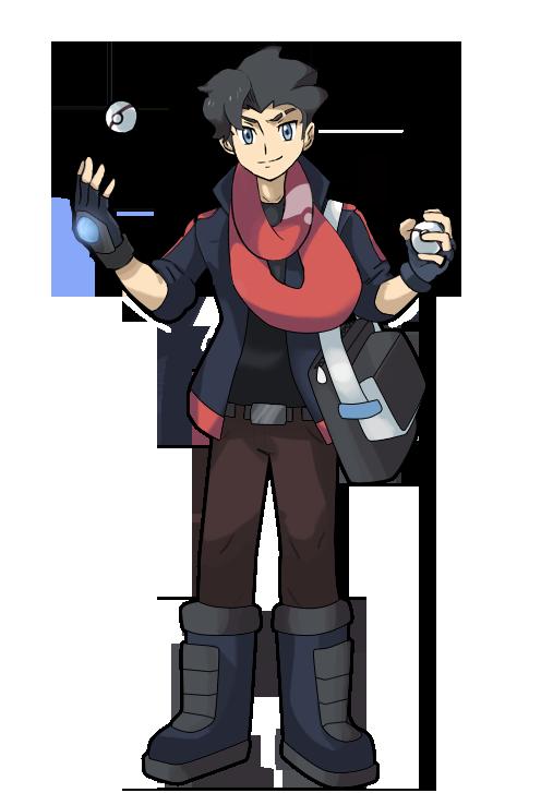 Xy Oras Fullbody Experiment By Ravenide Deviantart Com On Deviantart Pokemon Characters Pokemon Oc Pokemon Avatar