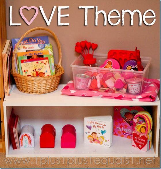 Love Theme Preschool Fun | Kids' Valentine's Day Activities