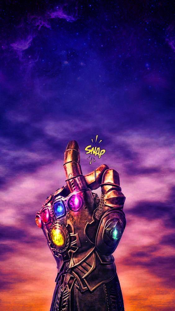 Thanos Snap Thanos Marvel Marvel Iphone Wallpaper Avengers Wallpaper
