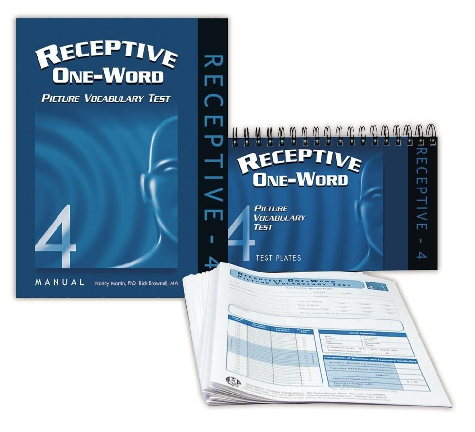 ROWPVT-4: Receptive One-Word Picture Vocabulary Test - 4th Edition