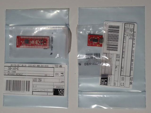 Mitov Software: Yesterday received SparkFun nRF52832 from Cisco