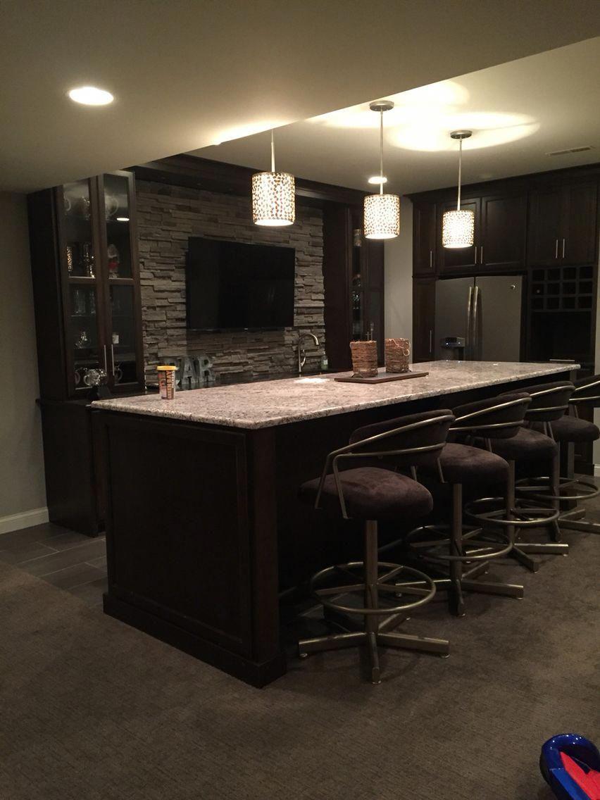 Rec Room Bar Designs: Ways To Finish A Basement