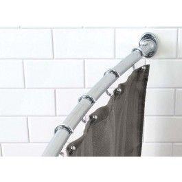 Jysk Ca Curved Shower Curtain Rod Chrome Shower Curtain Rods