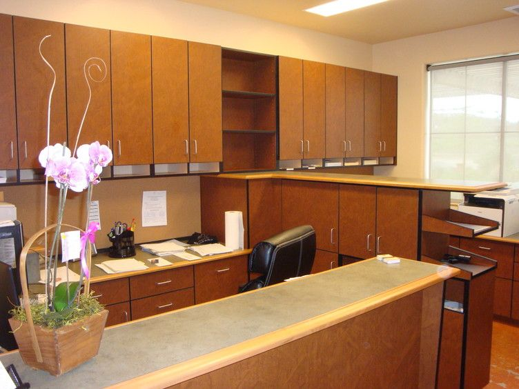 Laminate office cabinets for Pear Valley vineyards by ...