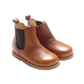 Angulus Prewalker botas chelse coñac