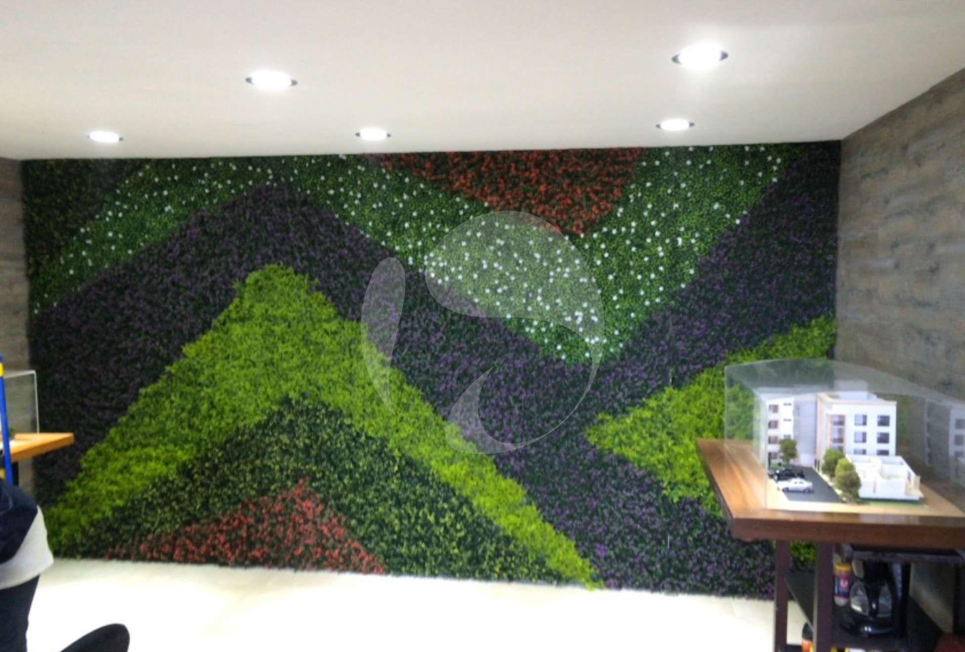 Muros verdes en la ciudad de puebla muro verde for Muro verde artificial