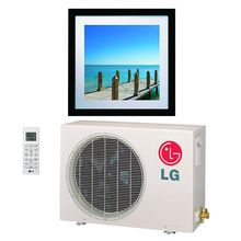 Lg La090hvp 9000 Btu Ductless Mini Split Heat Pump The Slim