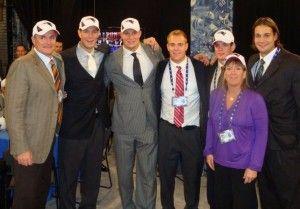 Gronkowski Family At Draft Day Rob Football Players