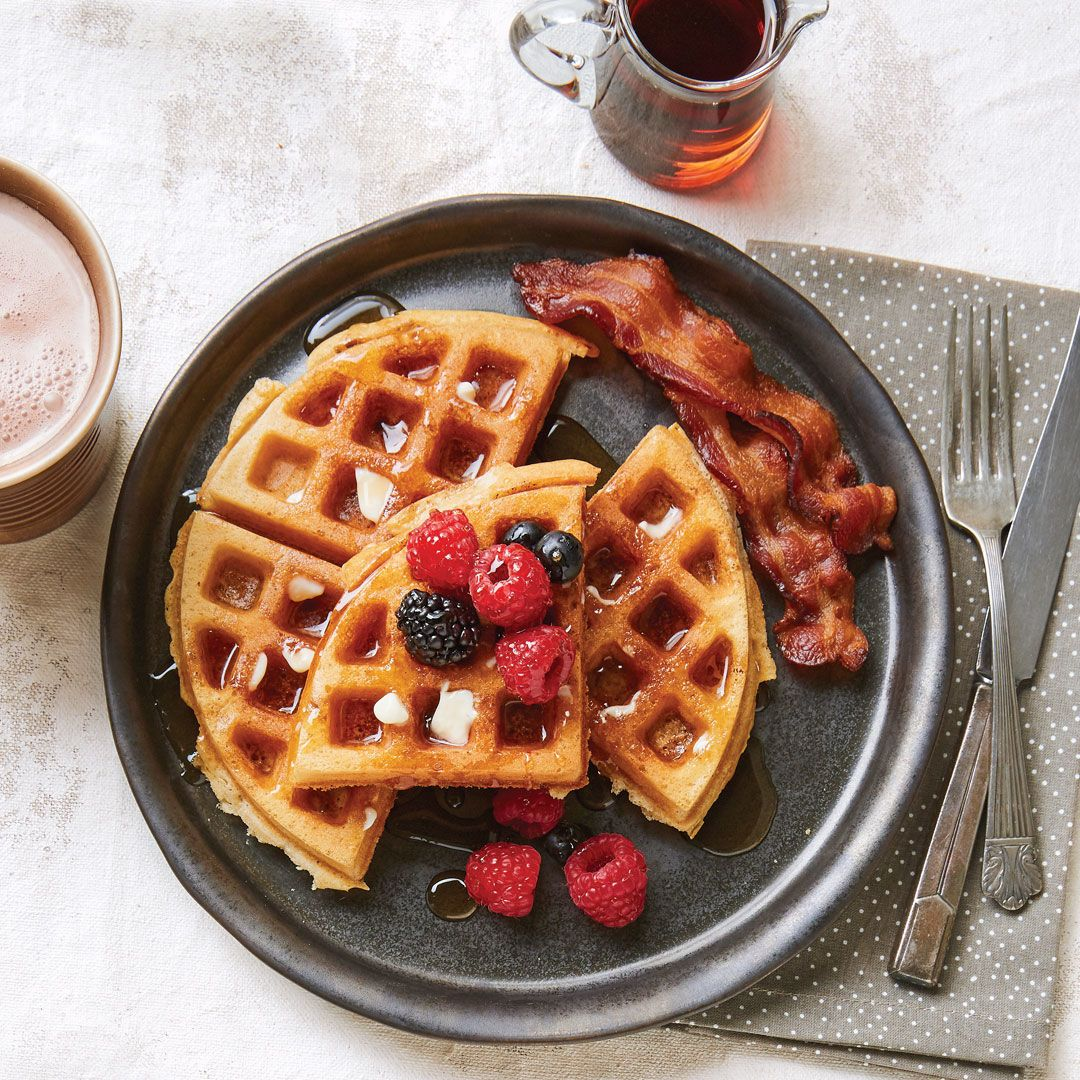 Brownbutter overnight waffles recipe brown butter