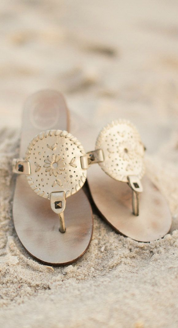 ad3f35f2f8b The Jack Rogers Georgica sandals are a must-have for summer! These leather  sandals seriously match everything