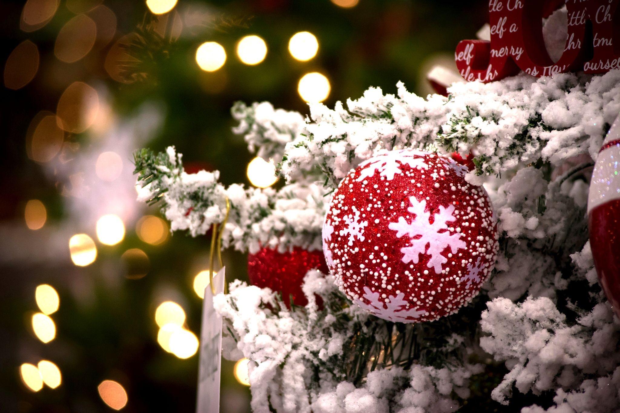 Обои рождество, украшение, шар, шарик. Праздники foto 13