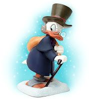 Mickey's Christmas Carol - Scrooge - Ebenezer Scrooge 2000 Parkwest Exclusive Numbered Limited Edition 2,000	$165