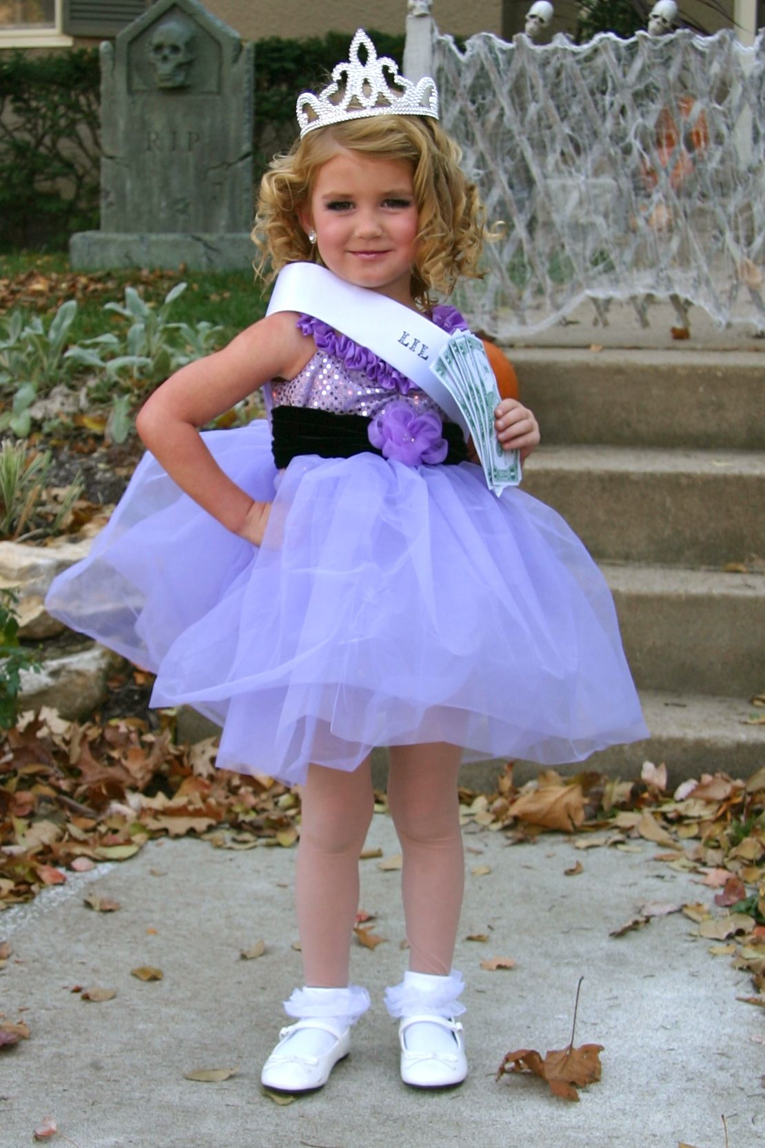 toddler and tiarasfaux pageant girl halloween costume - Pageant Girl Halloween Costume