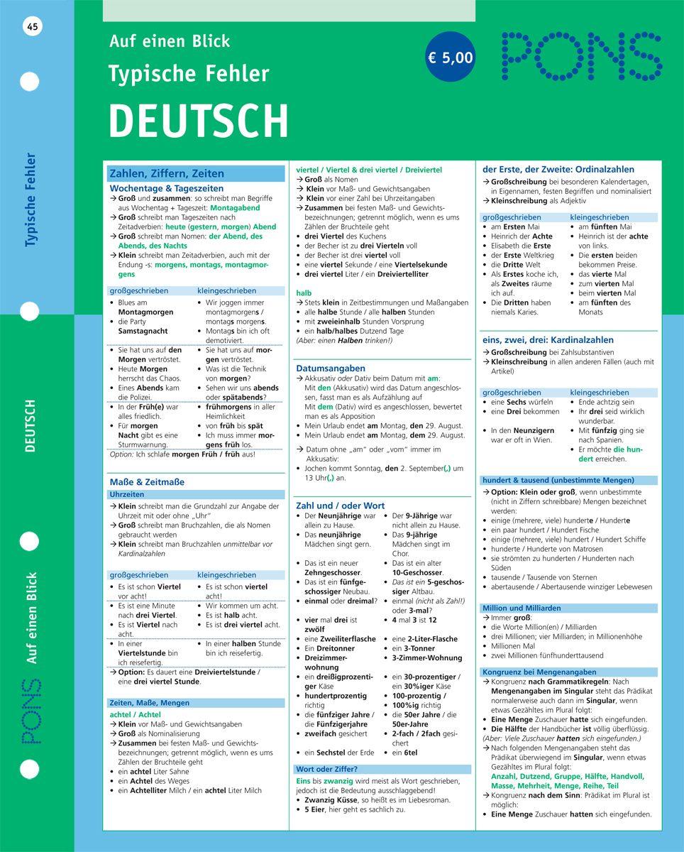 Pin von Mervi J auf German grammar | Deutsch nachhilfe