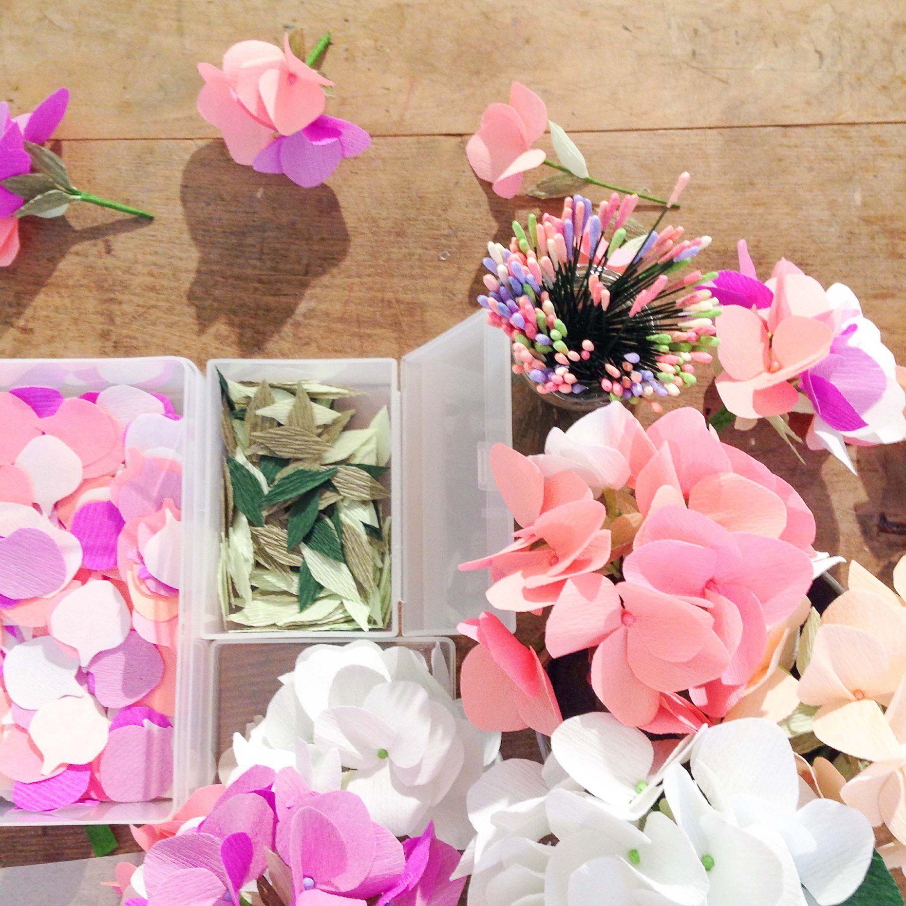 Creative Paper Flower Making Juvecenitdelacabrera